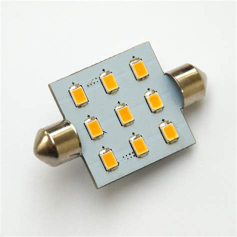 Led Smd 42mm 9 smd 2835 high output led festoon l boatls