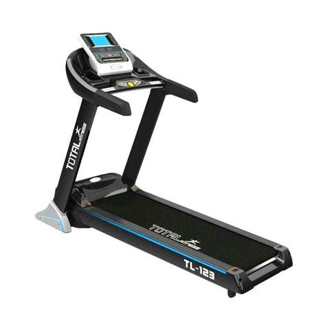 Treadmill Elektrik Tl 222c jual total fitness treadmill elektrik tl 123 peralatan fitness harga kualitas