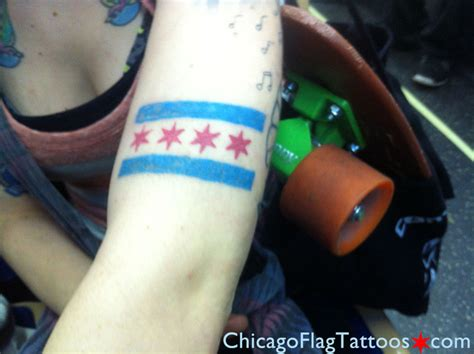 chicago flag tattoo chicago flag tattoos may 2013 archives