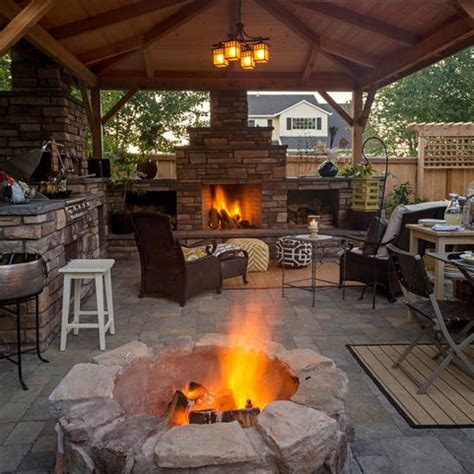 Firepit Pizzeria Mcaravey Property Fireplace And Firepit And Pizza Oven Www Paradiserestored Outdoor