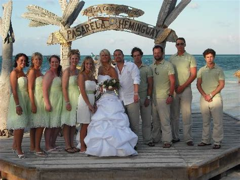 our perfect wedding picture cayo guillermo jardines