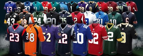 nfl jersey wear your favorite sports jersey this weekend