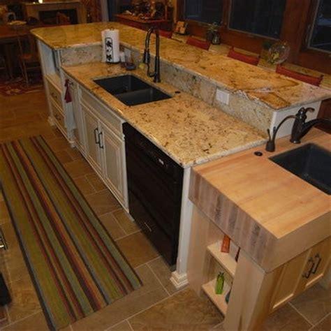 2 tier kitchen island painted glazed 2 tier island 2 level isl design pictures