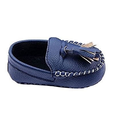 baby leather loafers weixinbuy toddler baby s faux leather loafers