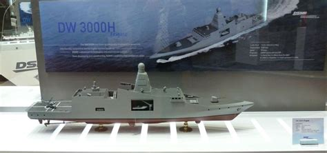 Japan Home Design Magazine by Dsme Dw 3000h Frigate Proposal For Thai Navy Unveiled