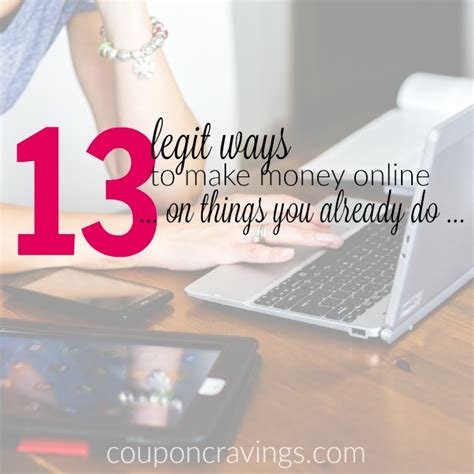 can anyone make money online yes here are 13 legit ways - How Can 13 Make Money Online