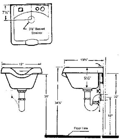 Salon Sink Layout | shoo bowl installation instructions