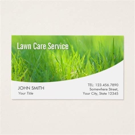 lawn care business card templates free 195 best images about lawn care business cards on