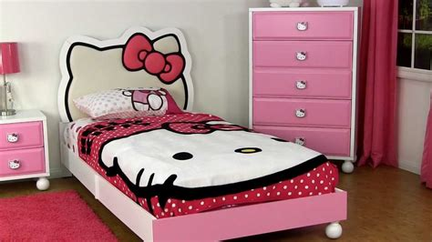 pictures of hello kitty bedrooms amazing hello kitty bedroom furniture for children and
