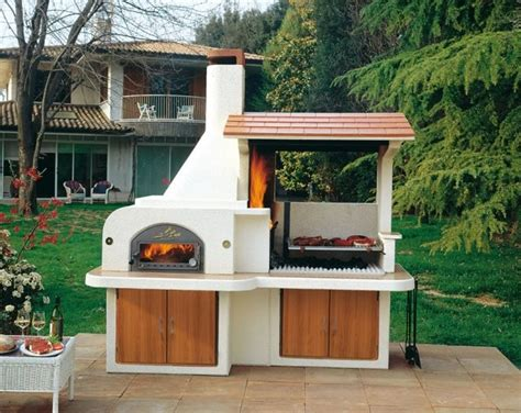 backyard bbq design ideas barbecue ext 233 rieur par palazzetti plaisir de griller en