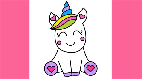 unicorn step by step how to draw and easy unicorn for step by