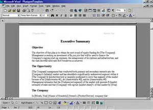 Professional Business Plan Template Sample Of A Professional Business Plan Professional