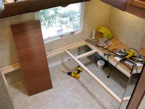 How To Change Your RV Bunkhouse Into A Workshop