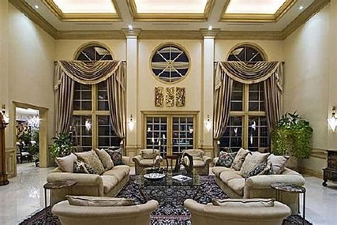 shaqs star island house interior celebrity home luxury homes luxury mansion living room shaq shaquille o