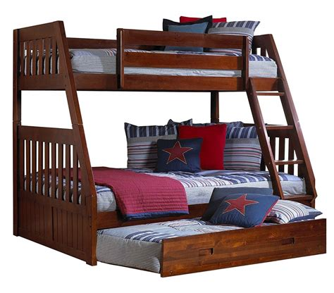 Best Twin Over Twin Queen And Full Over Full Loft Style Bunk Bed With Trundle