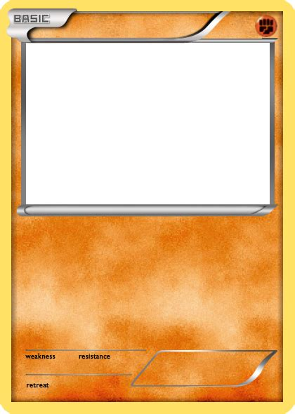 legendary card template png bw fighting basic card blank by the ketchi on