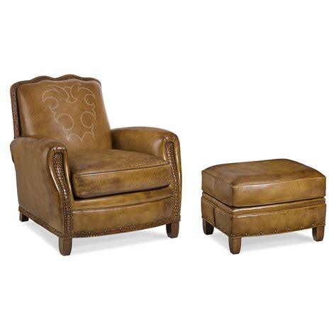 hancock and leather chair and ottoman hancock and 6041 1 bs utopia chair and ottoman