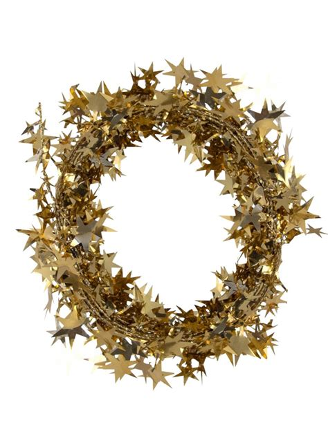copper star wired garland 7 6m christmas decorations