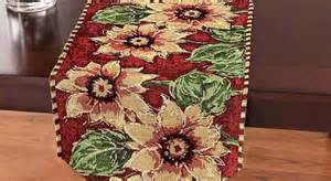 dining room table runners ideas with elegant patterns and