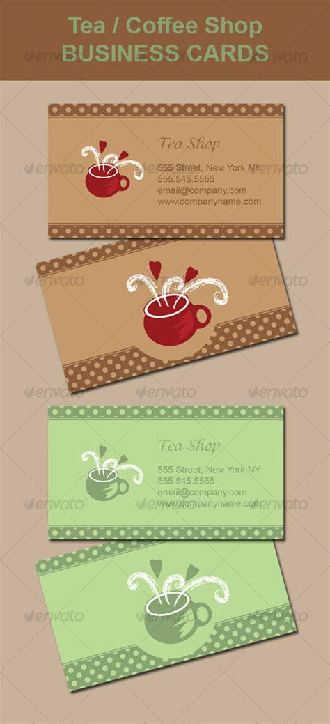 business card graphics books coffee tea coffee shop business card graphicriver