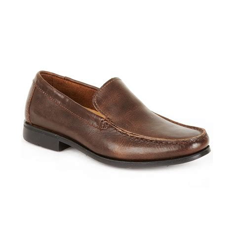 sebago loafers sebago back bay moc loafers in brown for black lyst