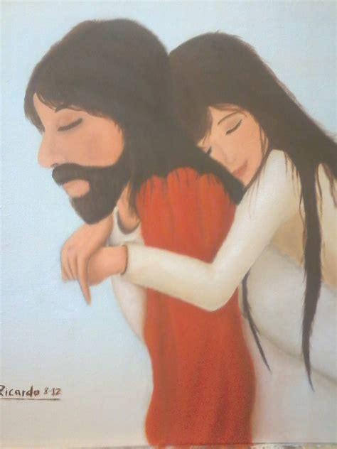 imagenes de jesus con una mujer galeria richie