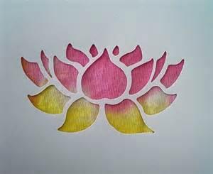 Lotus Flower Stencils Lotus Flower Stencils Www Imgkid The Image Kid Has It
