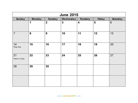 printable day planner june 2015 calendar excel june 2015 calendar template 2016