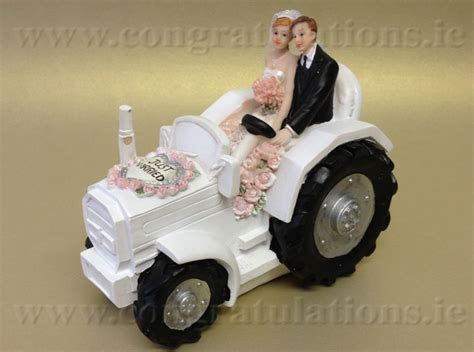 Hochzeitstorte Traktor by Ford Tractor Wedding Cake Topper