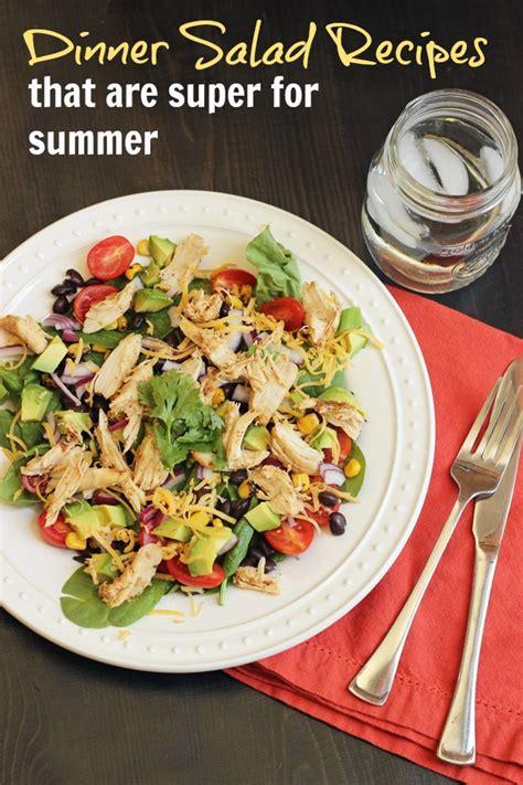 dinner salad recipes dinner salad recipes that are super for summer good