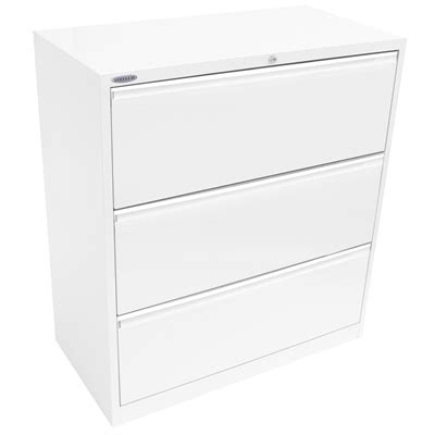 3 Drawer Filing Cabinet White by Lateral Filing Cabinet 3 Drawer 1015h White Satin