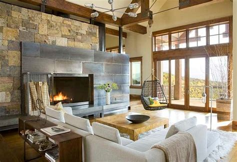rustic contemporary decor 30 rustic living room ideas for a cozy organic home