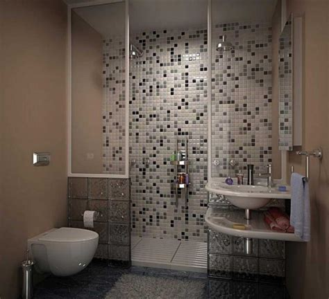 bathroom wall tile ideas in contemporary stylish designs blue wall small bath design with mosaic decoration tiles
