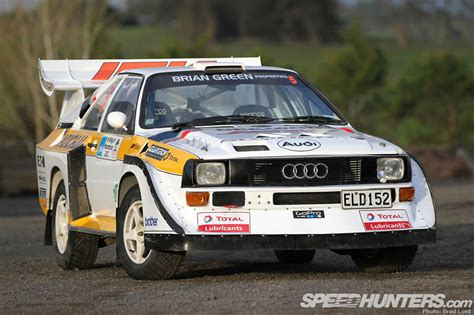 Old Audi Rally Cars by The Kiwi Built Quattro S1 Speedhunters