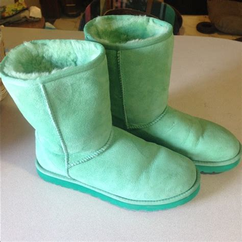 colored uggs mint colored ugg boots