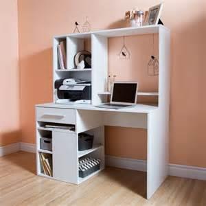 White Computer Desk For Home Annexe White Computer Desk