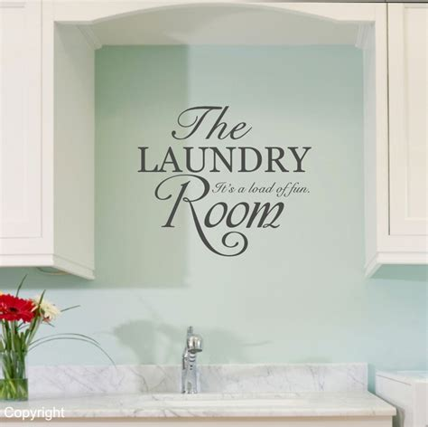 Laundry Room Decals by The Laundry Room Vinyl Wall Decal Sticker
