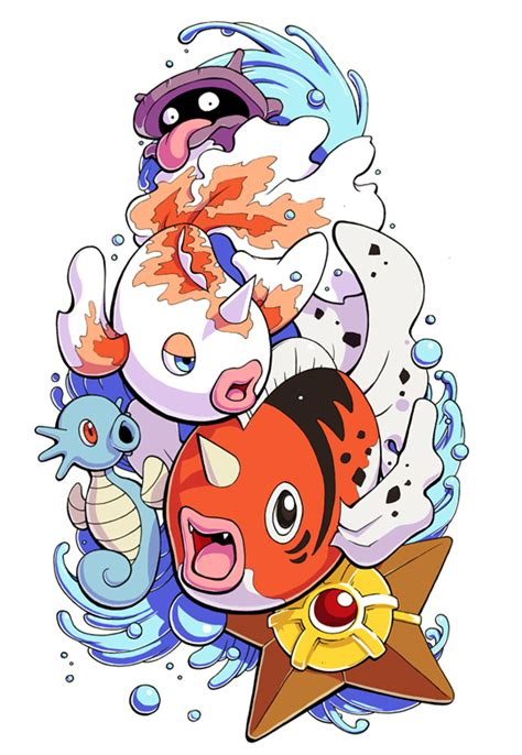 water pokemon tattoo by h0lyhandgrenade on deviantart