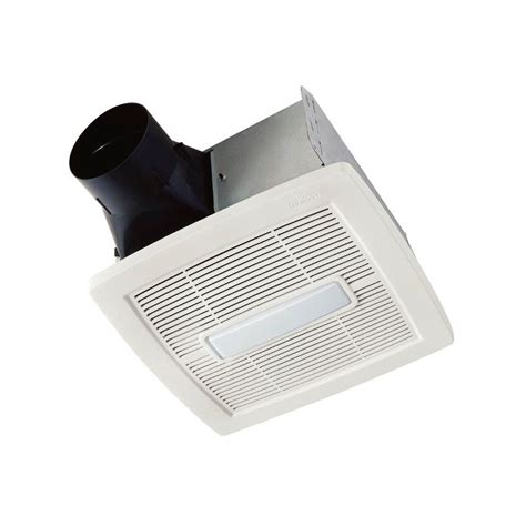 nutone invent series  cfm ceiling bathroom exhaust fan  light energy star aenl