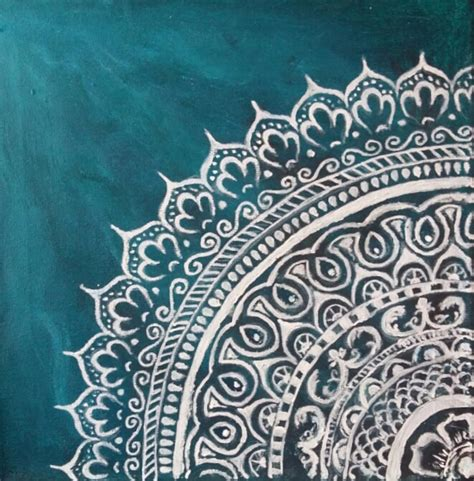 Jade Mandala Painting By Jennie Hallbrown