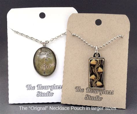 necklace card holder template necklace pouches necklace envelopes necklace pockets jewelry