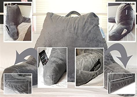 a bed rest pillow provides you a firm and steady support reading pillow firm back support bed rest chair lounge