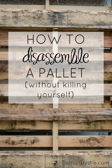 how to disassemble a couch yourself best 25 wooden pallet furniture ideas on pinterest