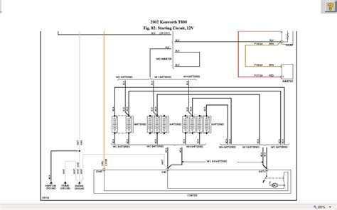 2002 t800 kenworth i need the starter circuit wiring diagram