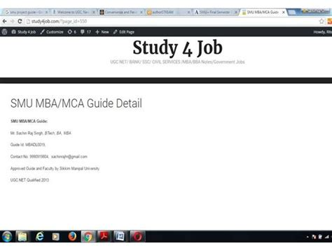 Smu Mba Project Ppt Sle by Smu Mba Synopsis And Project Authorstream