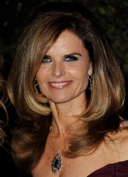 ombre hair over 50 maria shriver s ombre color haute hairstyles for women