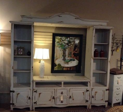 shabby chic entertainment center 1000 ideas about rustic entertainment centers on