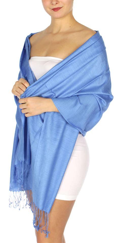 Pashmina Instan Aesha Sky Blue wholesale d01 silky light wedding pashmina 20 sky blue