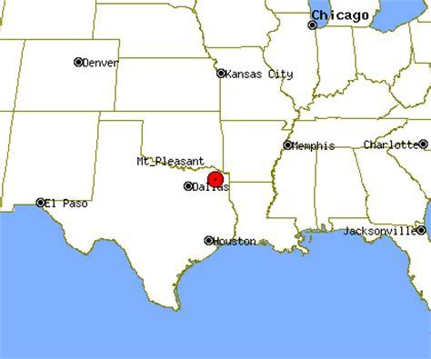 mt pleasant texas map mt pleasant profile mt pleasant tx population crime map
