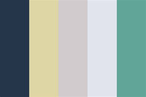 color or colour scandinavian 2 color palette